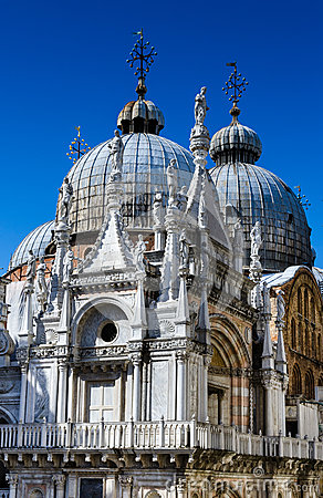 Free Basilica San Marco Dome In Venice, Italy Royalty Free Stock Images - 31497979