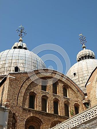 The Basilica San Marco in Venice