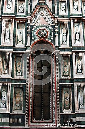 Basilica Santa Maria del Fiore (Duomo) detail