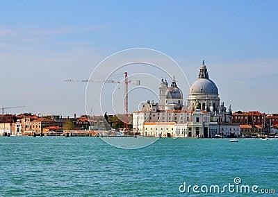 Basilica Santa Maria della Salute, Venice Editorial Stock Image
