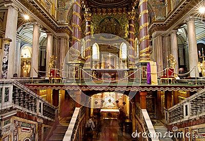 Basilica Santa Maria maggiore - Rome
