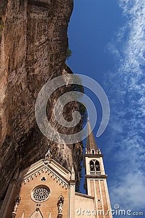 Basilica Santuario Madonna della Corona - Italy