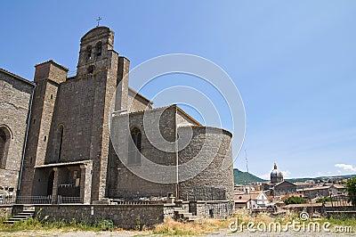 Basilica of St. Francesco alla Rocca. Viterbo.