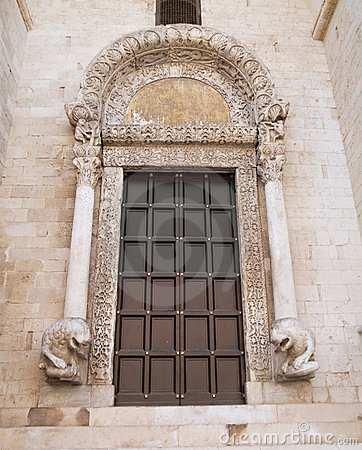 Basilica of St. Nicholas. Bari. Apulia.