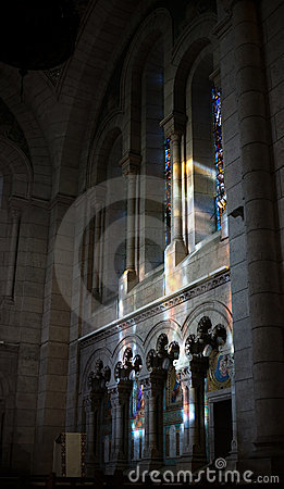 Free Basilique Du Sacre Coeur Interior Royalty Free Stock Images - 19639959