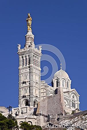 Free Basilique Notre-Dame-de-la-Garde, Marseille Stock Images - 16419044