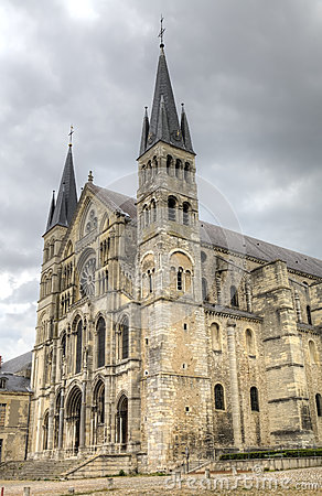 Free Basilique Saint-Remi. Reims, France Royalty Free Stock Photography - 40756067
