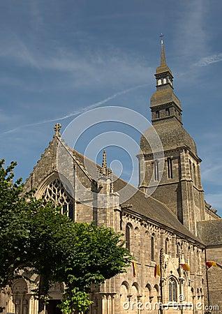 Basilique Ste-Sauveur in Dinan