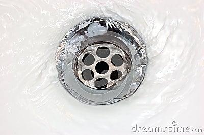 Basin Drainage Drain water macro detailed running