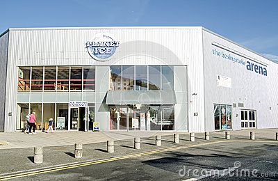 Basingstoke Arena Ice Rink Editorial Image
