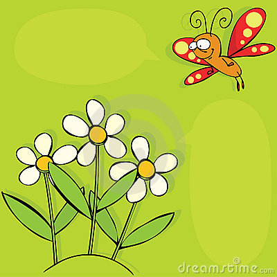 Basisrecheneinheit und Blumen