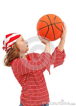 Free Basket Ball Royalty Free Stock Image - 15965276