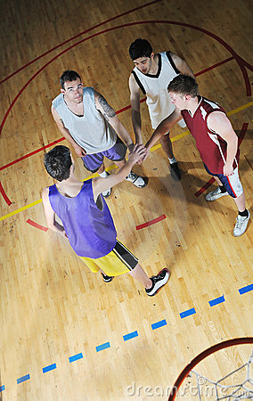 Free Basket Ball Game Player At Sport Hall Royalty Free Stock Photos - 9784628