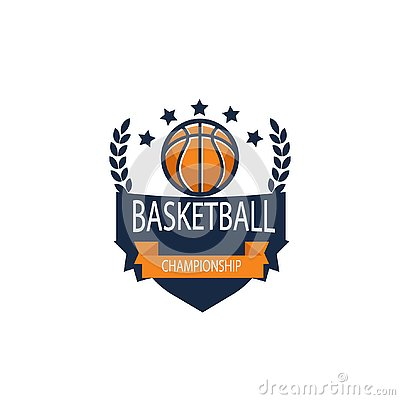 Basket Ball Logo templates vector image. AI Illustrator. Stock Photo