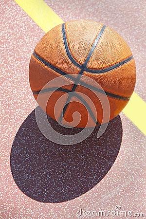 Basket-ball orange