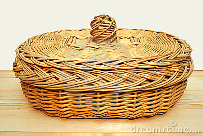 Basket for bread.