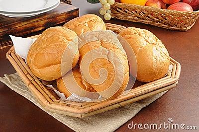 Basket of breads