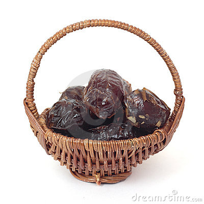 Basket of dates