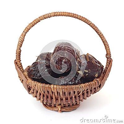 Basket of dates
