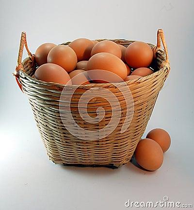 Basket of eggs 2