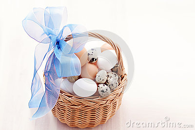 Basket of eggs