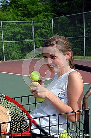 Free Basket Girl Royalty Free Stock Images - 5115749