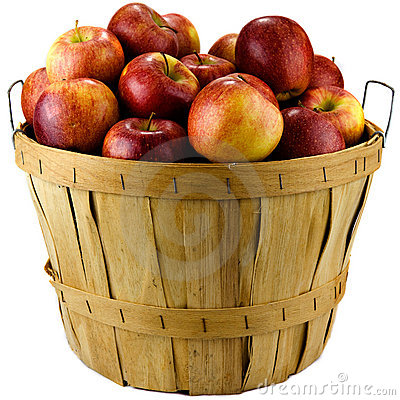 Free Basket Of Apples Royalty Free Stock Image - 22564656