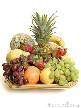 Free Basket Of Fruit Stock Images - 102934