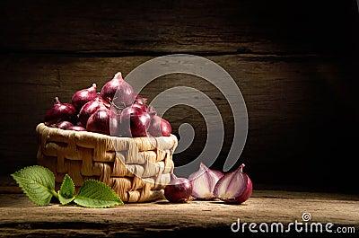 Basket Of Onion