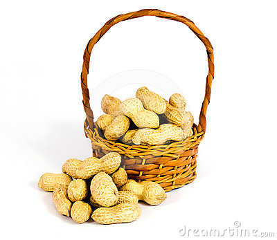 Basket of peanuts