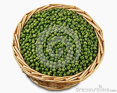 Basket of peas