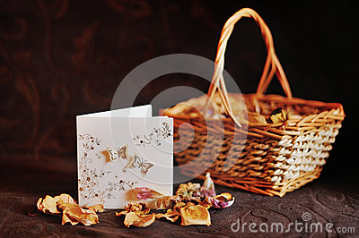 Basket and petals
