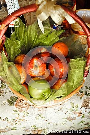 Basket for picnic