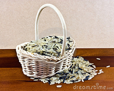 Basket of rice