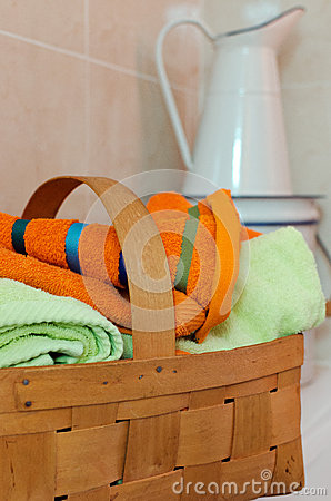 Basket for Towels
