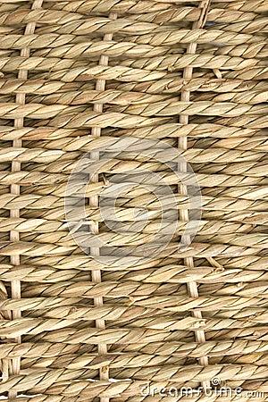 Basket - weave detail