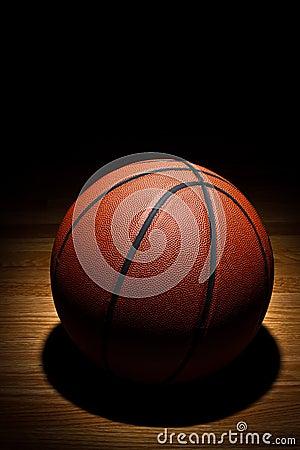 Basketbal op hof