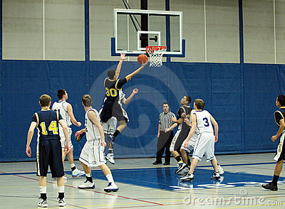 Basketball Action Editorial Photography