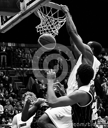 Basketball Editorial Stock Photo