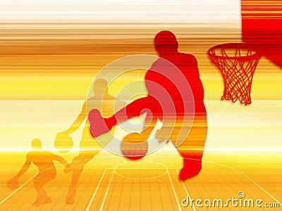 Basketball Art 1 Stock Photo Image 1004820