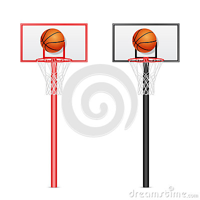 Free Basketball Backboards Royalty Free Stock Photography - 52456917