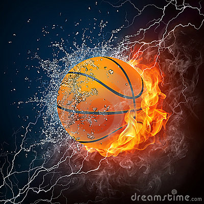 Free Basketball Ball Royalty Free Stock Photography - 15879317