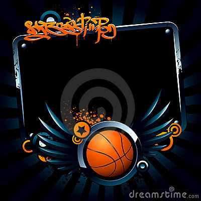 Free Basketball Banner Stock Photo - 9420510