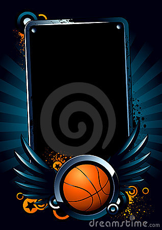 Free Basketball Banner Stock Photography - 9420522