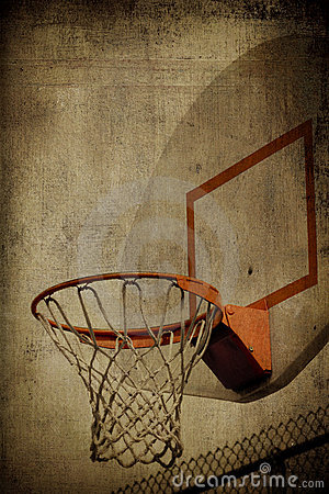 Free Basketball Basket Grunge Stock Photos - 8195473
