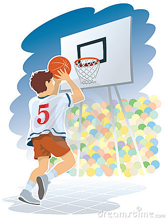 Free Basketball Boy Royalty Free Stock Photo - 2286775