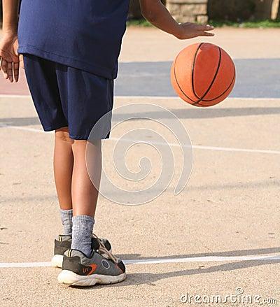 Free Basketball Boy Stock Photography - 2597972