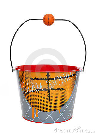 Basketball Bucket (Pail)