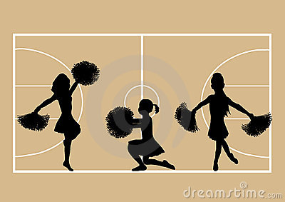 Basketball Cheerleaders 4