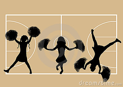 Basketball Cheerleaders 5
